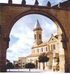 Iglesia de Porcuna, vista desde el Arco