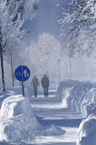 nieve y frio